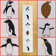 MINI Penguin fabric - 6 original designs