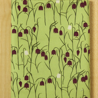 Fritillary spring flower fabric fat quarter