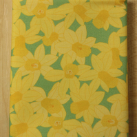 Daffodil spring flower fabric fat quarter