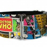 Martingale dog collar in DR WHO comic book