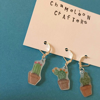 Cacti crochet Stitch Markers