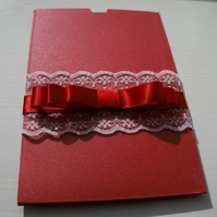 Card Wallet Wedding invitation