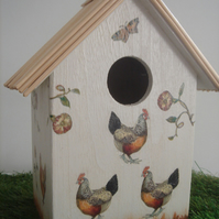 """Chickens"" birdhouse"