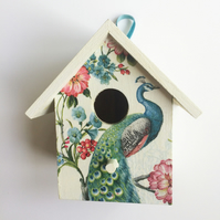 """Peacock"" birdhouse"