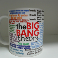 The big bang theory quotes 11oz novelty coffee mug