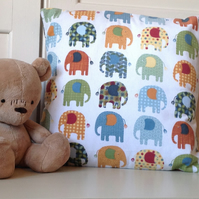"18"" x 18"" Elephant Cushion Cover"