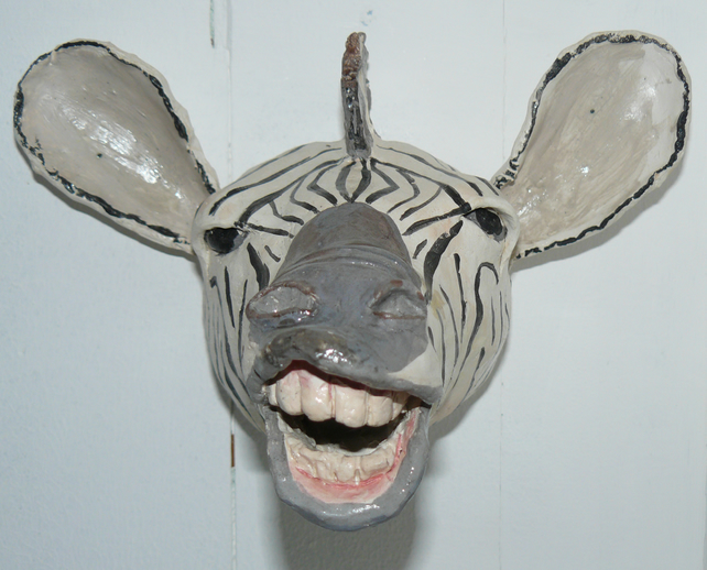 Zebra ceramic head