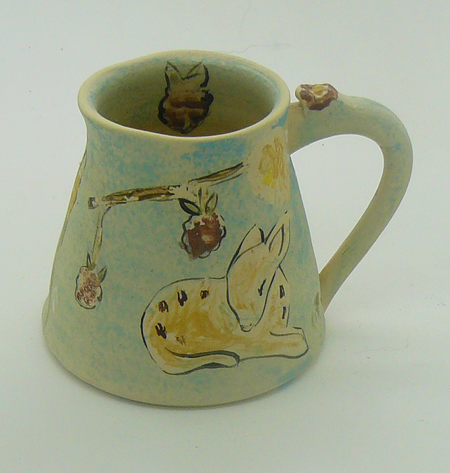 Bambi & Mouse Jug or Vase