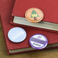 Woodland Explorer Grape Soda Adventure is out there UP Button pack Ellie badge