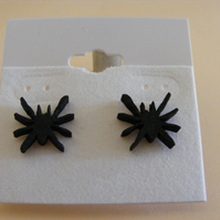 Scary Spider stud earrings