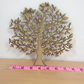 Blank Wooden family tree approx 18.5 x 18.5