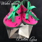 handmade Baby Crib Shoes age 0 - 3 months