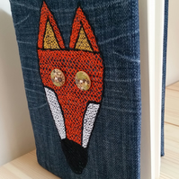 A5 Fox Removable Notebook Cover (with free first notebook!)