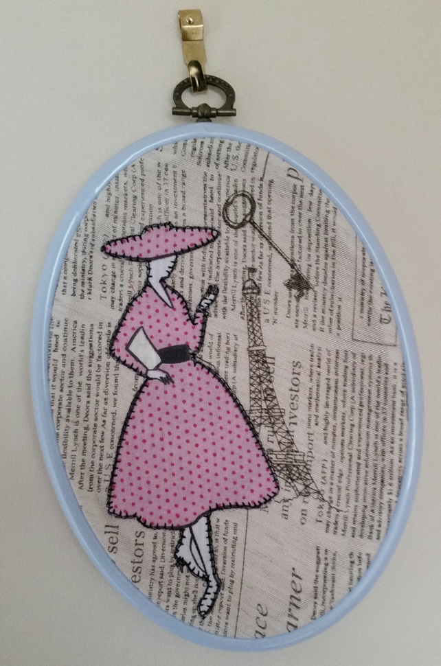 Parisian Ladies Wall Hanging