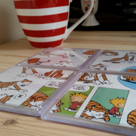 Calvin and Hobbes Coasters