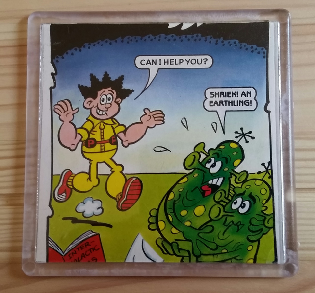Comic Coaster - Desperate Dan Alarm