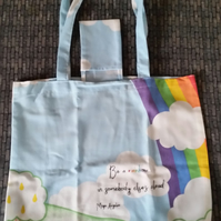 Rainbow Shopping Tote Bag