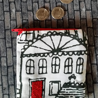 Small (but perfectly formed!) Money Purse - Hand Embellished