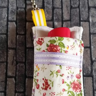 Lip Gloss Holder - Ditzy Flowers
