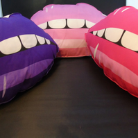 Lips Cushion - Variety of colours