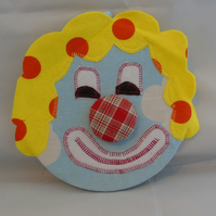 Covered Cork Pinboard - Clown