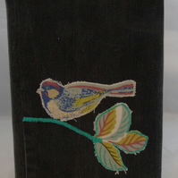 A5 Bird Removable Notebook Cover