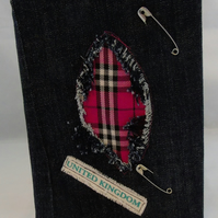 A5 Punk Removable Notebook Cover
