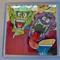 Comic Coaster - Monsters