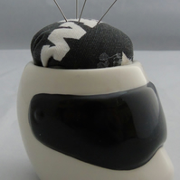 Novelty Top Gear Racing Helmet Pin Cushion