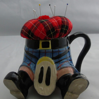 Novelty Scottish Kilt - Pin Cushion