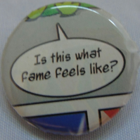 Comics Badge - Is this what fame feels like?