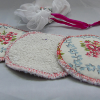 Reusable Make Up Pads - Ditsy Print