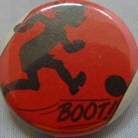 Comics Badge - Footballer