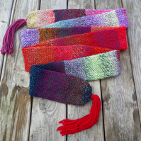 Long Cosy Double Thickness Tube Scarf