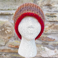 Reversible Hat. Woollen Hat. Winter Hat. Knitted Hat