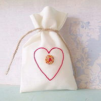 Gift Bag. Ring Bag. Trinket Bag. Keepsake Bag. Jewellery Bag. Potpourri Bag.