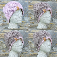 Reversible Hat. Beanie. Woollen Hat. Woolly Hat
