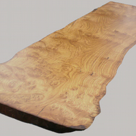 Chestnut burr table, bar or counter top