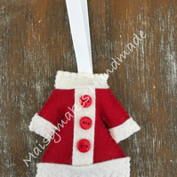 Christmas Jacket Hanging Decoration
