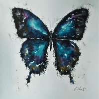 Butterfly, Original Watercolour Painting.