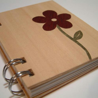 Wood Covered Sketch Book