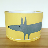 Handmade Lampshade, Mr Fox by Scion, Sunflower, Gull & Chalk.