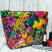 Make up bag - animals