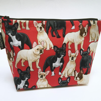 Make up bag - frenchies