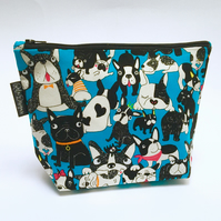 Make up bags  frenchies blue