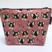 Makeup bag Frenchies