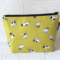 Makeup Bags - french bull dogs