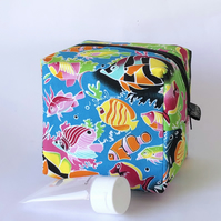 Makeup, toiletry boxy bag