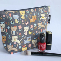 Cat themed Makeup bag