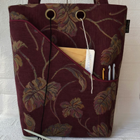 Knitting bag, project bag